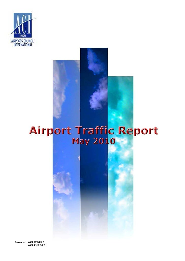 Airport Rraffic Report - ACI Europe MAY 2010
