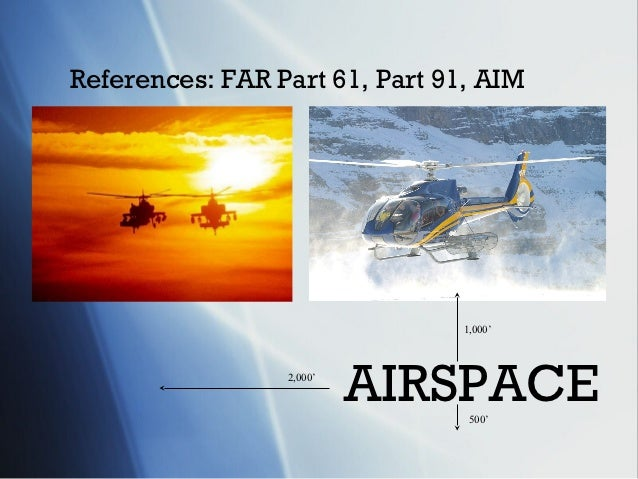 Airspace training