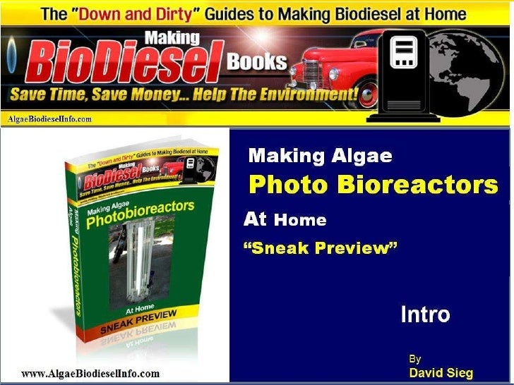 Algae PBR Air System Video1