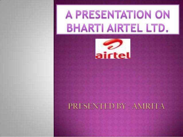 Bharti Airtel Pvt.Ltd.