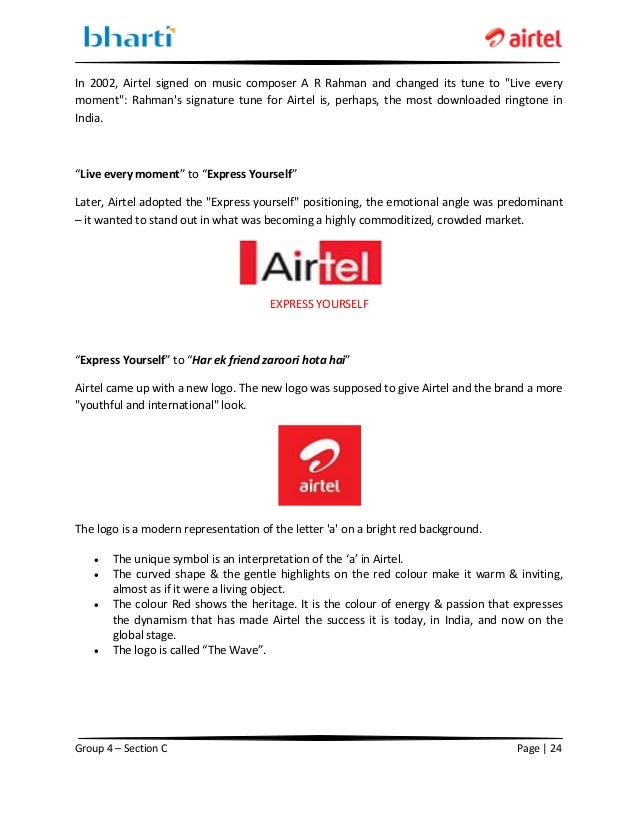 "live project on airtel Project ""airtel live (web site)"" 11 airtel wow (wap on web) - exclusively handled airtel web vas portal, lead end to end it operation, team includes, technical architect, operation team, process manager, and l1, l2 and l3 support teams."