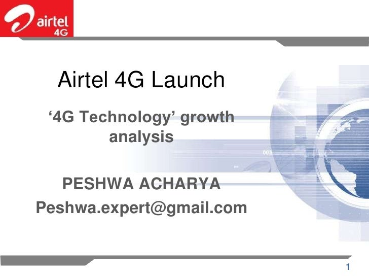 4g technology an analysis Machine tool technology, mechatronics and information engineering: analysis and study of 4g mobile communication technology.