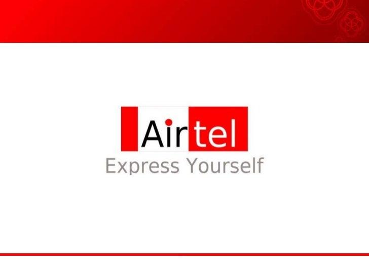Airtel Final Ppt
