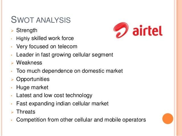 five forces analysis of bharti airtel Airtel strategic approach, bharti airtel marketing strategy, competitors analysis, telecom market, bharti airtel, swot analysis home porter's five forces etc.
