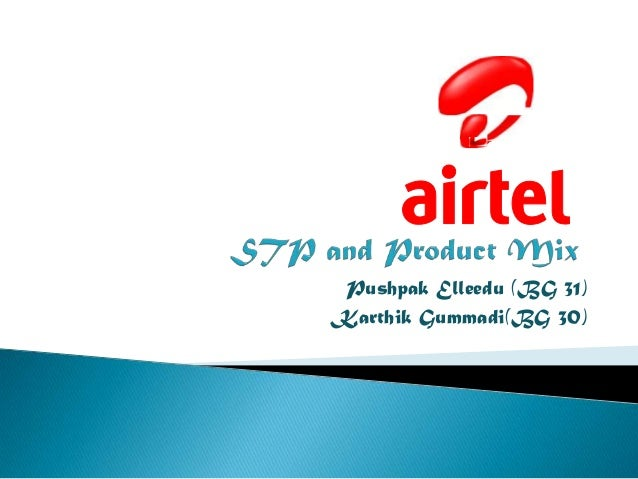 promotion mix of airtel This is a research report on project on airtel product mix by sayed arif in marketing category search and upload all types of project on airtel product mix projects.