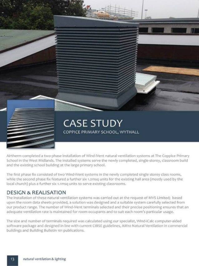 Airtherm case study   coppice school, worcestershire