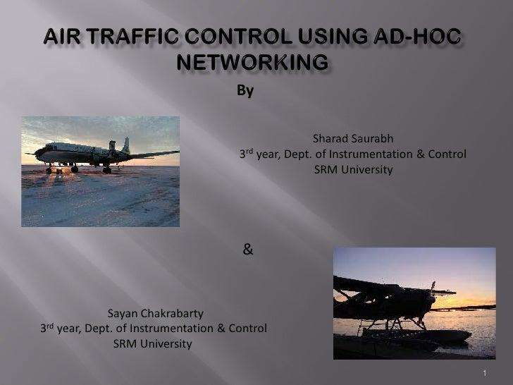 Air Traffic Control Using Ad Hoc Networking