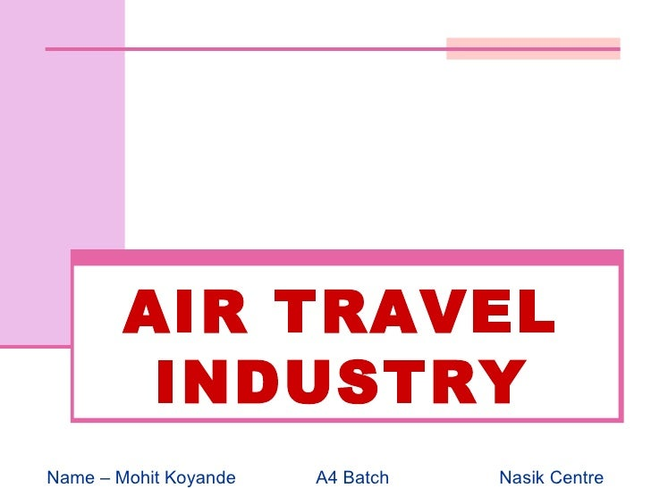 Air Travel Industry Merit and Distinction
