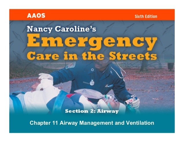 Chapter 11 Airway Management and Ventilation