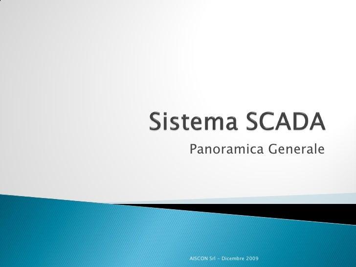 Aiscon   Presentazione Sistema Scada
