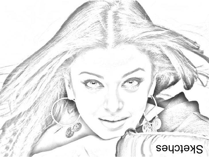Aishwarya rai/bacchan In Sketches