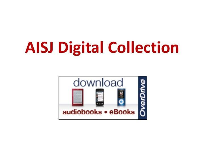 AISJ Digital Collection