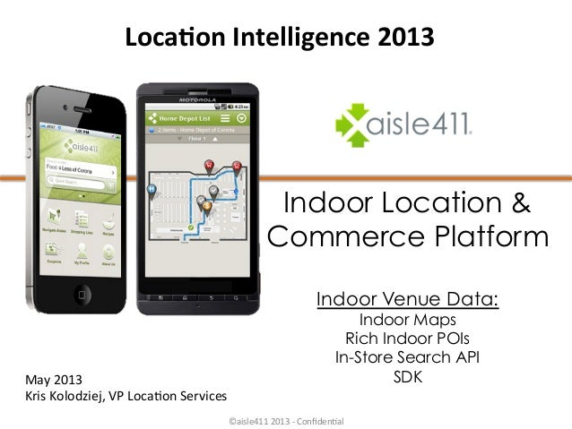 Aisle411 presentation for location intelligence conference 2013 v4