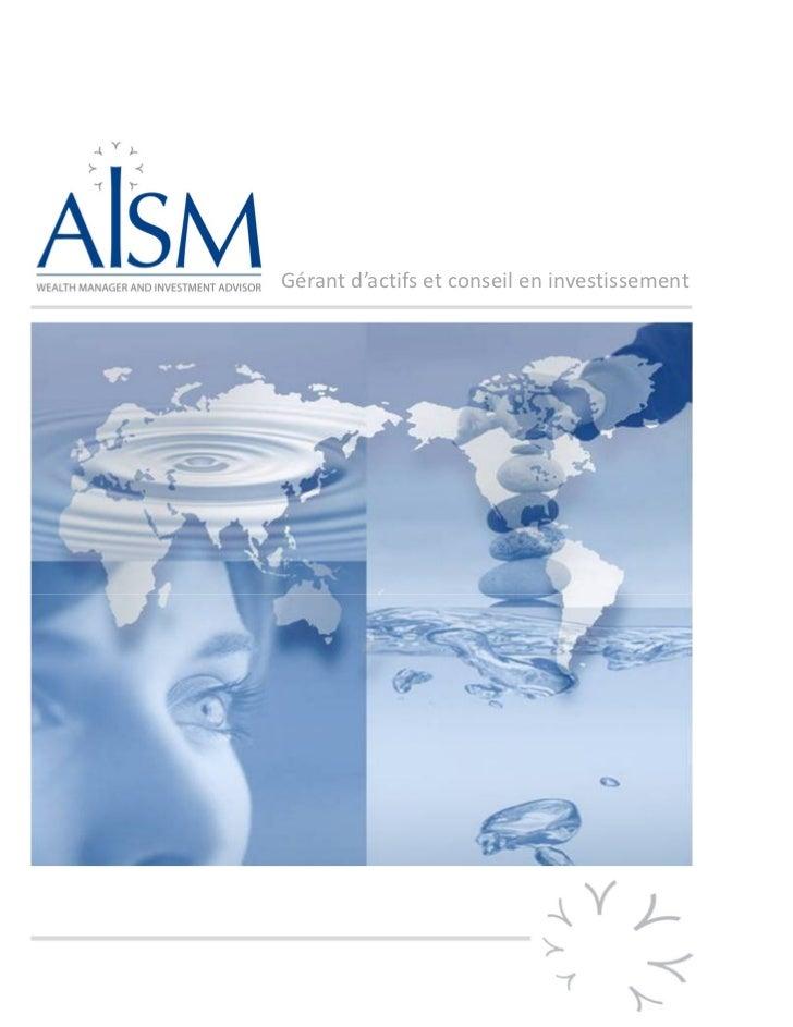 Aism global presentation jan 2012 fr