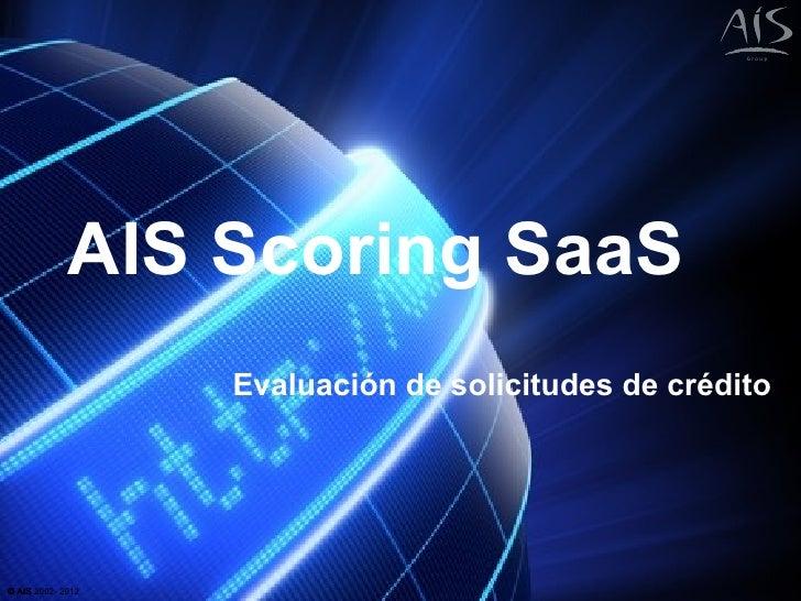 AIS Scoring SaaS