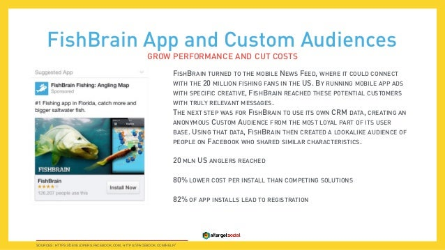 How can facebook help your mobile app to hit the tops on for Fish brain app