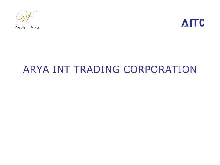 Aitc Business Presentation