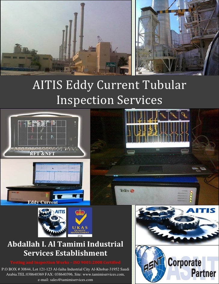 eddy current tubular inspection services broucher