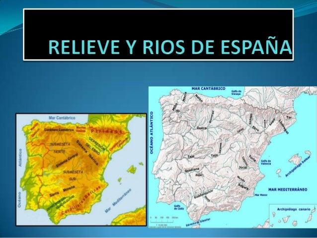1. EL TERRITORIO ESPAÑOL Podemos agrupar el relieve español en las siguientes grandes unidades: - La meseta: una gran llan...
