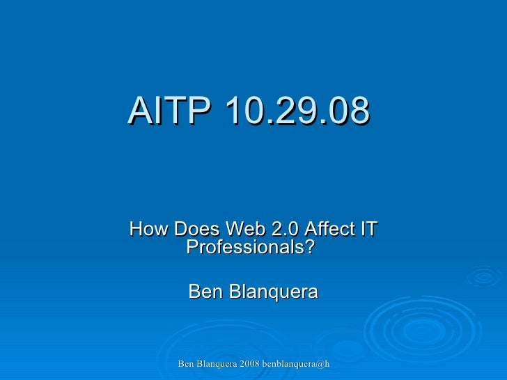 Aitm 10.29.08 - Shift Happens