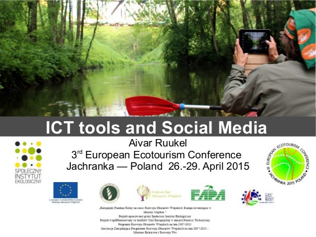ict and socia media in tourism Social media research: theories, constructs, and conceptual frameworks  (ie, need for connection and ict innovativeness)  in social media research, .