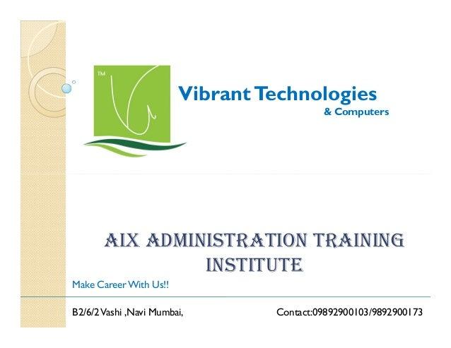 Aix admin-course-provider-navi-mumbai