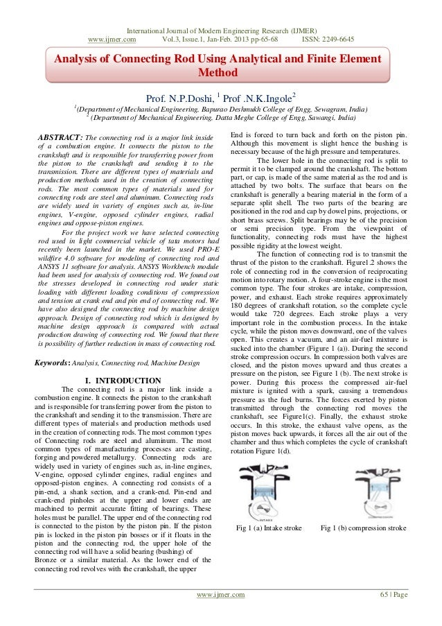 International Journal of Modern Engineering Research (IJMER)                    www.ijmer.com          Vol.3, Issue.1, Jan...