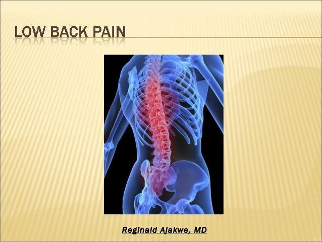 Lower Back Pain - Part 2