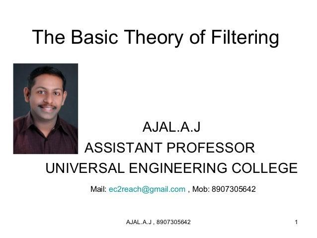 Ajal filters