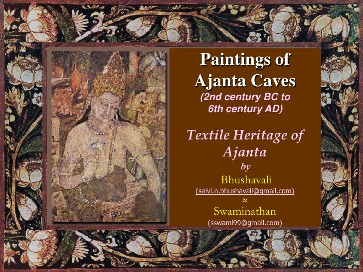 Ajanta Its textile heritage