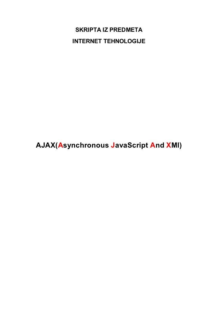Ajax  -it_tehnologije