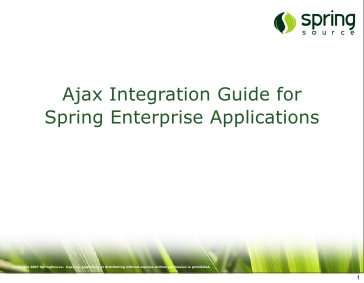 Ajax Integration Guide