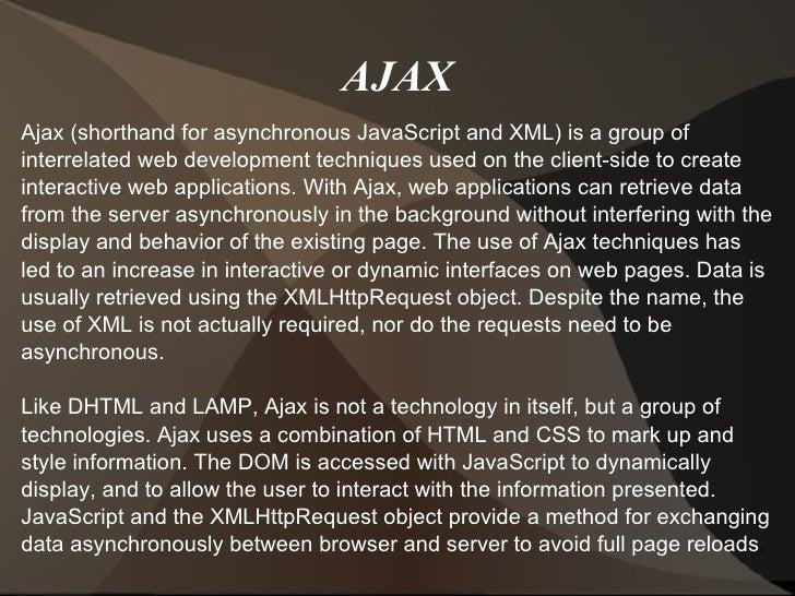 Ajax ppt