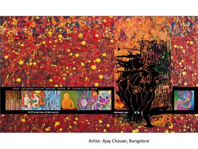 Artist- Ajay Chavan, Bangalore