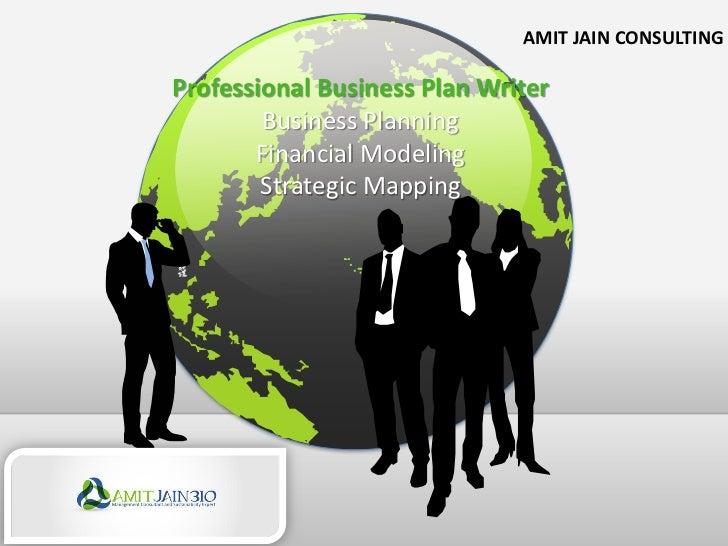 Professional business plan writer