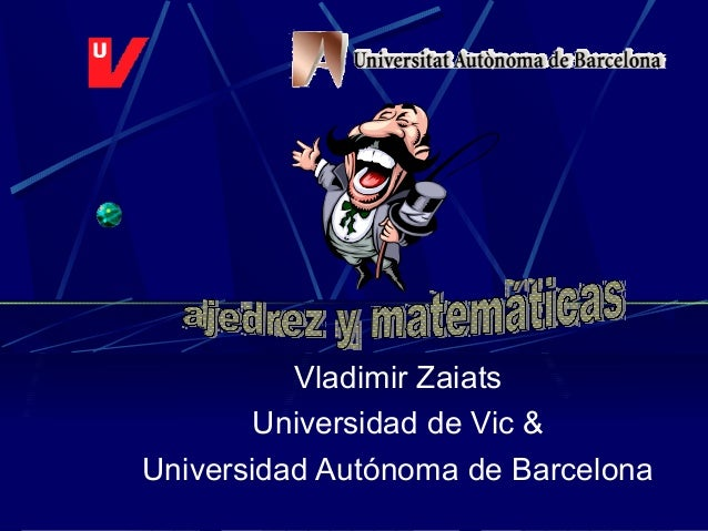 Vladimir Zaiats Universidad de Vic & Universidad Autónoma de Barcelona