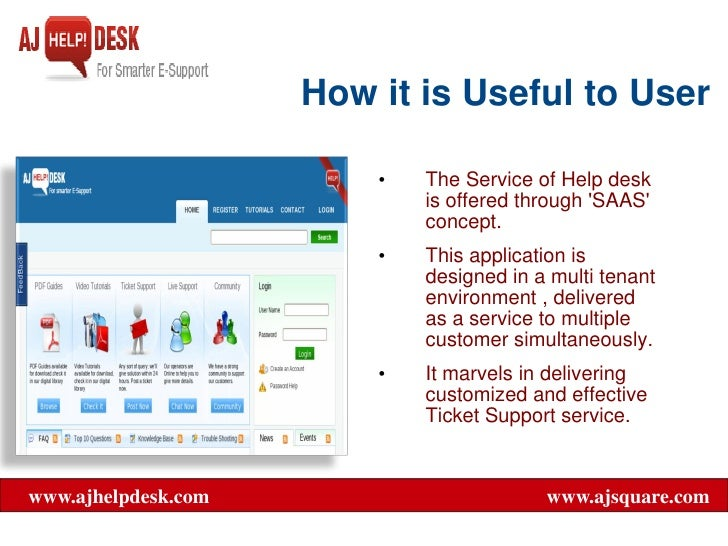 web help desk presentation As the service desk/helpdesk see their job even though we live in a multimedia age of it support by email, web service desk/helpdesk metrics and reporting.