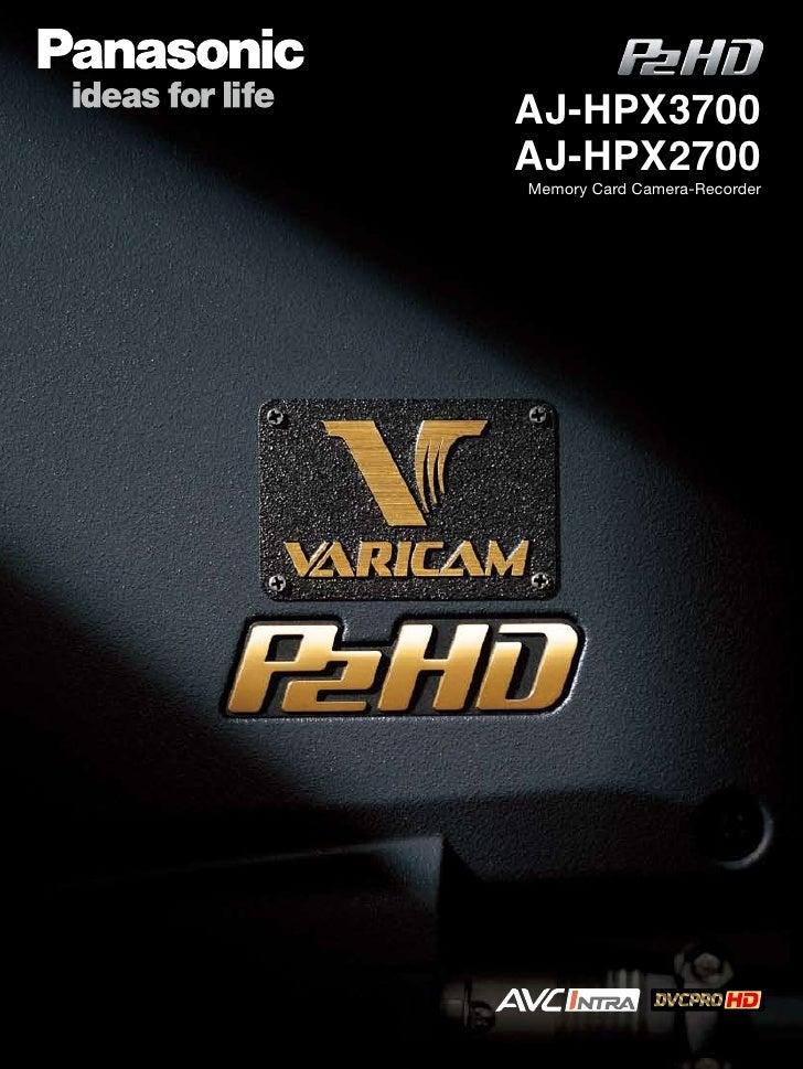 AJ-HPX2700 en 3700