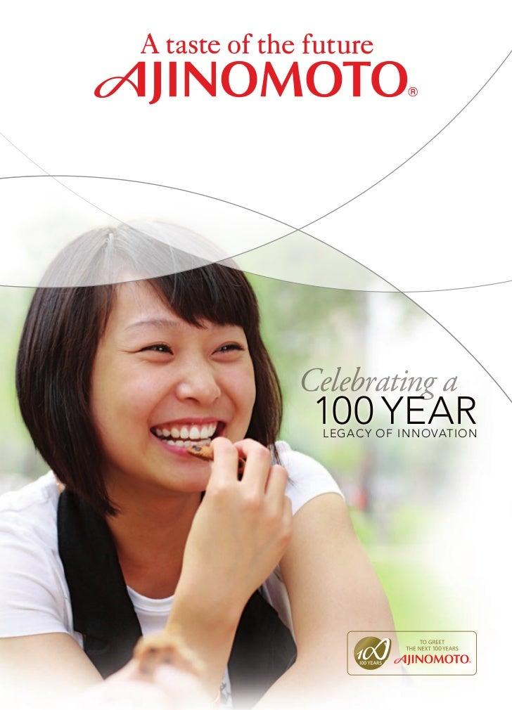 Celebrating a 100 Year  Legac Y of InnovatIon