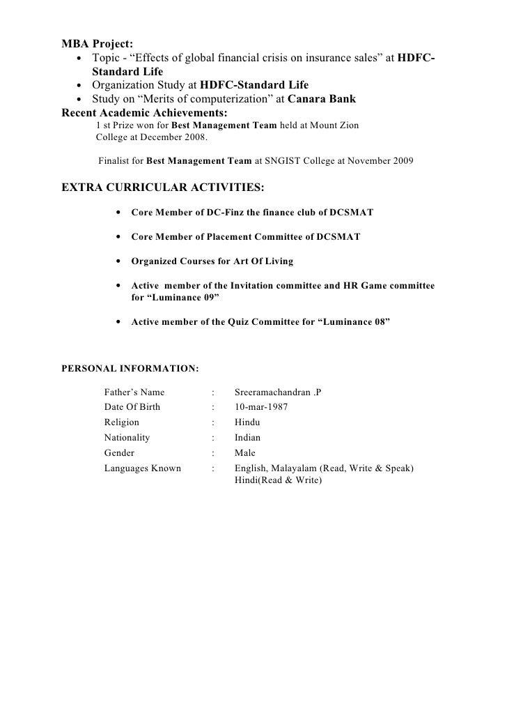 ajith resume