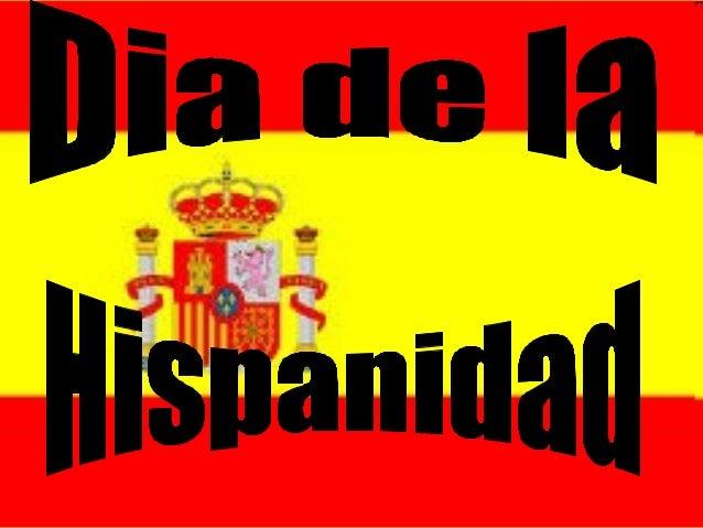 DIa de la Hispanidad.