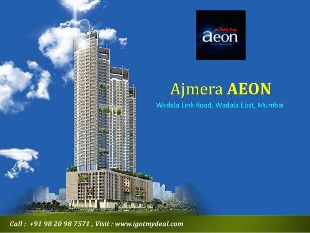 Ajmera Aeon Wadala Mumbai - New Project