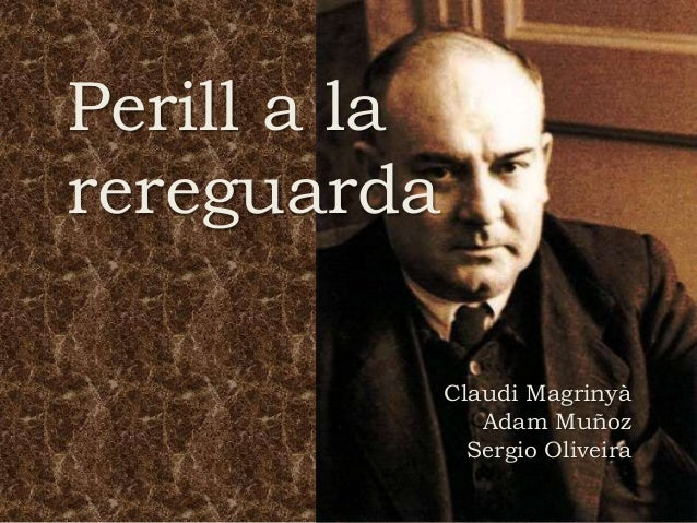 Perill a la rereguarda Claudi Magrinyà Adam Muñoz Sergio Oliveira