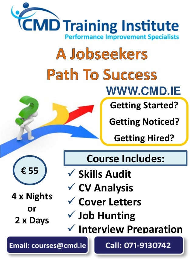  Skills Audit  CV Analysis  Cover Letters  Job Hunting  Interview Preparation Getting Started? Getting Noticed? Getti...