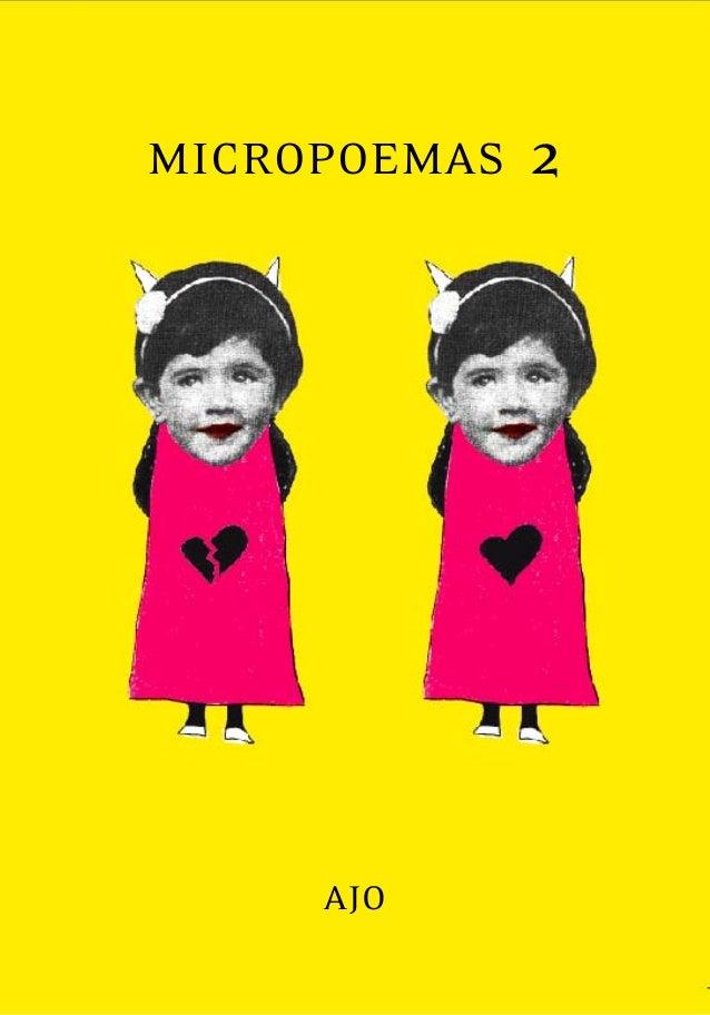 MICROPOEMAS 2AJO