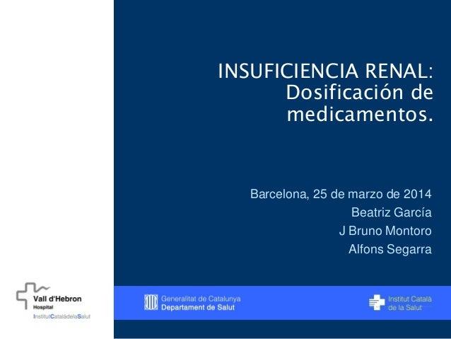 Insuficiencia Renal:
