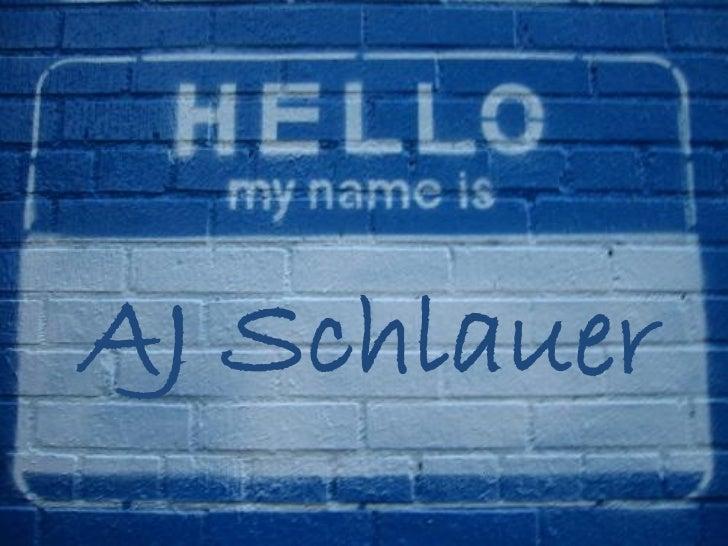 AJ Schlauer
