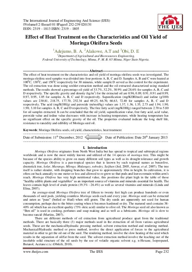 The International Journal of Engineering And Science (IJES)||Volume|| 2 ||Issue|| 01 ||Pages|| 232-239 ||2013||ISSN: 2319 ...