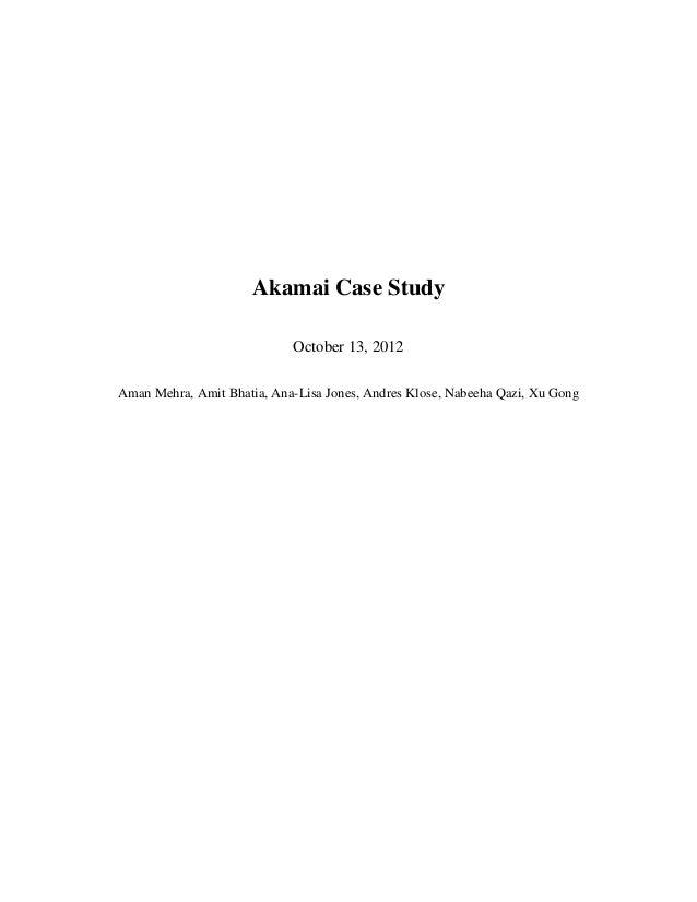 Akamai strategic analysis