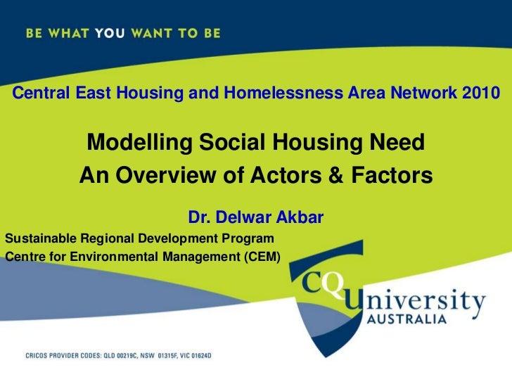 Akbar & greer social housing